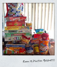 School Auction Basket Family Game Night