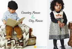 2015 Yarnspiration lookbook (Country Mouse and City Mouse) which includes both knit and crochet patterns for kids