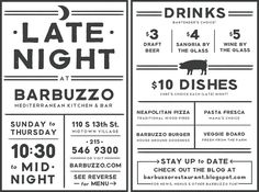 """...late-night """"happy hour"""" postcard (front & back by kathryn whyte"""