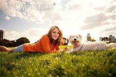 dog owner park family pets photography