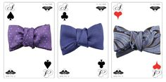 New silk bow ties by Le Noeud Papillon Of Sydney - www.lenoeudpapillon.com