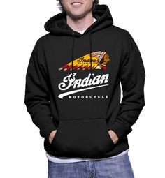 Indian Motorcycle Logo Hoodie Sweatshirts - Hottess