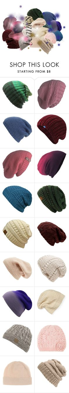 """""""beanie blast"""" by sum1smuse ❤ liked on Polyvore featuring Laundromat, Phase 3, Keds, Agent Ninetynine, Sole Society, The North Face, SIJJL, Monsoon, Jardin des Orangers and Leith"""