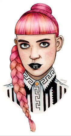 Grimes Fan Art