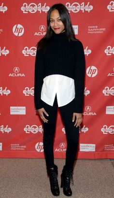 Best Dressed: Zoe Saldana