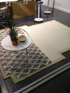 Haworth Showroom Gandia Blasco wool rug