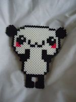 Panda Perler by federica