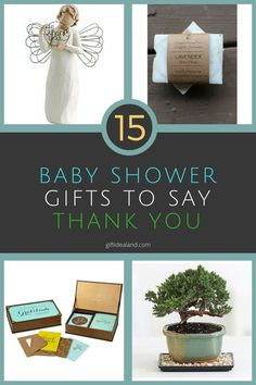 15 Amazing Baby Shower Thank You Gifts Gift For Pas