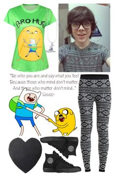"""""""day with Damon Fizzy x"""" by audrey-panda ❤ liked on Polyvore featuring Object Collectors Item, Converse and Pendleton"""