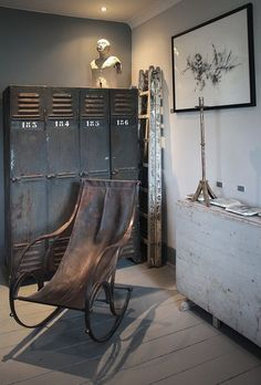 MacArthur Interiors - Open House Industrial decor style is perfect for any interior. An industrial living room is always a good idea.Industrial decor style is perfect for any interior. An industrial living room is always a good idea.
