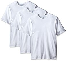 Tommy Hilfiger Men s Undershirts 3 Pack Cotton Classics Crew Neck T-Shirt 53ce13096