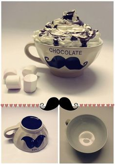 How do you like your mustache? I mean chocolate?    <3 SAShE.sk je skvelé, ako banánové želé!  (use google translate:P )