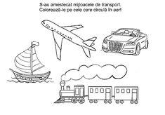 Worksheets, Transportation, Preschool, Activities, 1 Decembrie, Kids, Schools, Snow, Young Children
