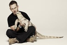 "Dom is a bit crazy but I love it! Cool Show! | ""Wild Things with Dominic Monaghan"" star Dominic Monaghan 