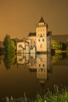 Beautiful Anif Castle, Salzburg, Austria...i did this castle as my 6th grade castle project and now i might get the chance to actually see it! :)