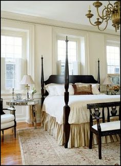 Keep black in mind in case you don't like the bedroom furniture in the master. 37 Farmhouse Bedroom Design Ideas that Inspire Master Bedroom Design, Home Bedroom, Bedroom Furniture, Master Bedrooms, Blue Bedrooms, Teen Bedroom, Ivory Bedroom, Shabby Bedroom, Small Bedrooms