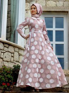 Papatya Elbise - Desenli - Minel Aşk
