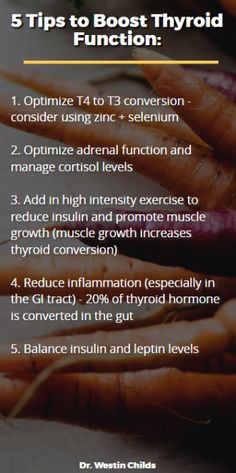 5 tips to boost thyroid function