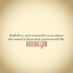 The origin of kickball. #AmericasBrand Baseball Playoffs, Braves Baseball, Baseball Party, Cardinals Baseball, Baseball Season, Sports Baseball, Softball, Baseball Stuff, Baseball Display