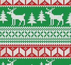 How To Create a Christmas Jumper Pattern in Illustrator | blog.spoongraphics.co.uk