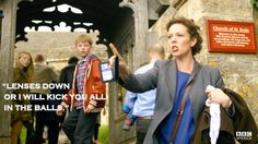 Broadchurch - I do like this show.  Damn Brits have done it again!