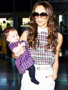 I love how she carries Harper around in her arms everywhere she goes. So awesome