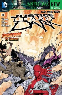 Justice League Dark (2011-) #13  House of Mystery vs. House of Secrets! The team is so badly defeated that even Constantine is out of tricks! Continued in JUSTICE LEAGUE DARK ANNUAL #1.