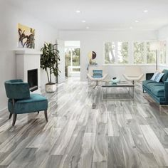Ivy Hill Tile Rio Coyote Gray 4 in. x 0.39 in. Matte Porcelain Floor and Wall Tile Sample-EXT3RD105460 - The Home Depot Grey Wood Tile, Grey Wood Floors, Wood Tile Floors, Wood Look Tile, Grey Flooring, Flooring Ideas, Modern Flooring, Flooring Options, Plank Flooring