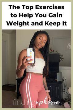 Weight Gain Plan, Weight Gain Workout, Weight Gain Journey, Gain Weight Fast, Weight Gain Meals, Healthy Weight Gain, Weight Lifting, Easy Workouts, At Home Workouts