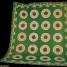 "Sunburst Pieced & Appliqued Quilt, 19th C, 91"" x 156"", Augusta Auctions"