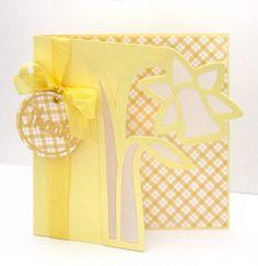 Daffodil Edge Card a