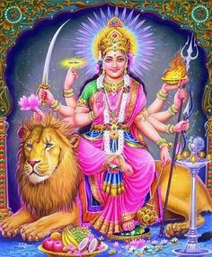 Maa Durga,most worshiped Hindu Godess