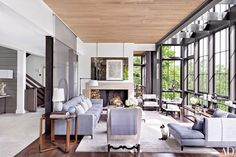 Ray Booth and John Shea reimagine industrial-chic at their sophisticated Nashville home
