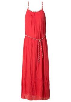 Fotsid kjole - rød