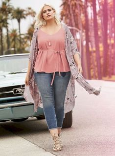 85 Stylish Plus Size Fashion Outfits Ideas For Women That You Can Try - ClothinLine Plus Size Fashion For Women Summer, Plus Size Summer Outfit, Summer Dress Outfits, Plus Size Women, Curvy Fashion Plus Size, Plus Size Fasion, Curvy Fashion Summer, Plus Size Summer Dresses, Spring Outfits