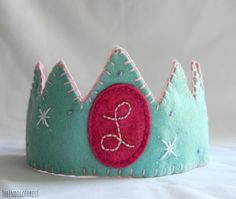Waldorf Inspired Birthday Crown