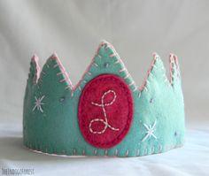 Waldorf Inspired Birthday Crown