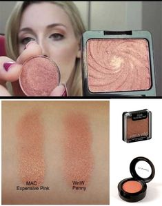 Dupe (Duplicate) Alert! - MAC Expensive Pink Eyeshadow vs. Wet n Wild Penny…