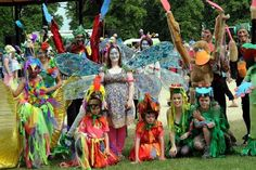 Double prize winners Art Shape at Gloucester Carnival 1. All these costumes were made with our scrap! Gloucestershire Resource Centre http://www.grcltd.org/scrapstore/