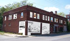 Walt Disney's original Laugh-O-Gram Studios building in Kansas city on Linwood Blvd.