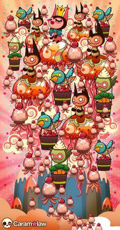 Caramelaw ... What a nice childish cartoon style. I like it
