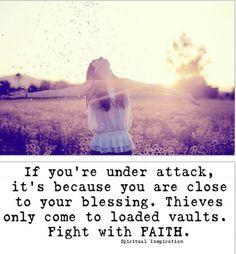 Fight with FAITH!!!!