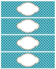 These really beautiful labels are designed with a Moroccan Tile Quatrefoil Pattern. These labels are free to download and are in editible PDF templates. Use them for just about anything including soap, gift, packages, candles and more. Included are round labels, address labels and water bottle size labels. Start printing ...