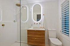 Scarborough Ensuite Renovation Small Bathroom Renovations On the Ball Bathrooms Bathroom Renovations Perth, Bathrooms, Mirror, Furniture, Home Decor, Decoration Home, Bathroom, Room Decor, Mirrors