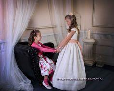 Foto de Comunion_44 Prom Dresses, Formal Dresses, Tulle, Skirts, Fashion, Vestidos, Photo Studio, Fotografia, Dresses For Formal