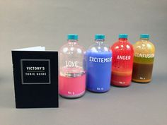 """""""This Artist Is Literally Bottling Up Our Emotions"""" """"Bottled Emotions"""" was born of Kinser's desire to mix a conceptual art piece with packaging."""