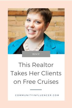 Looking for the ultimate real estate closing gift? Find out why this Realtor takes her clients on a free cruise, and how she's getting more real estate referral leads! Lead Generation, Real Estate Leads, Real Estate Business, Estate Agents, Marketing Plan, How To Find Out, Cruise, Campaign, Things To Come