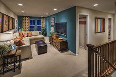 Dickens 2146 Loft Media Room and Office