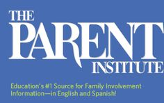 In the PTES Conference Room: student/parent brochures from The Parent Institute - Education's #1 Source for Family Involvement Information in English and Spanish!  Click on the image to see a list of resources we have available!