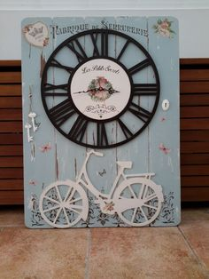 Home Decor: Tabla Reloj de Dayka Trade